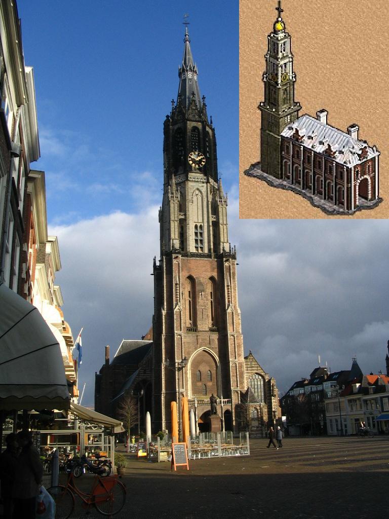Церковь/ратуша в Нидерландах