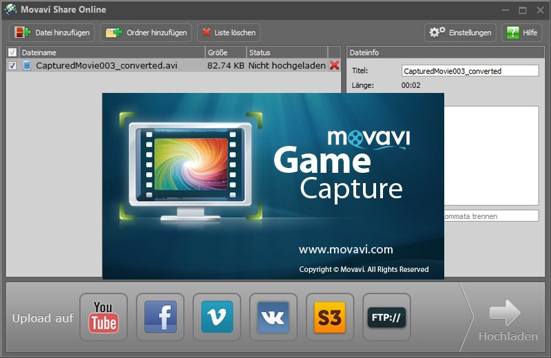 Movavi game capture торрент