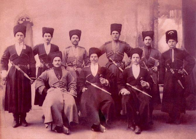 1912 год. Ст. Азовская.