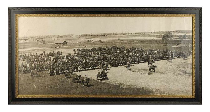 2-ой Оренбургский казачий полк. Варшава. 21 Апреля 1908 г.