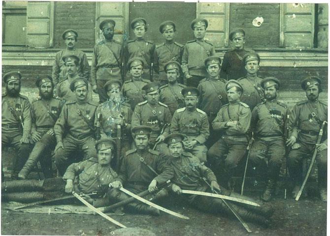3-й Уральский казачий полк. Сотня есаула Любавина
